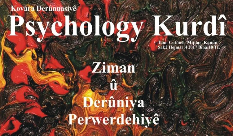 "Hejmara 4. a Kovara ""Psychology Kurdî"" derket!"