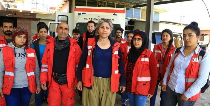 Ji Enfalê heta Ewropayê, ji Ewropa heta Efrînê banga doktora Kurd