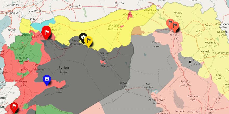 Hêzên QSD Û YPG'ê li dora Reqayê ne