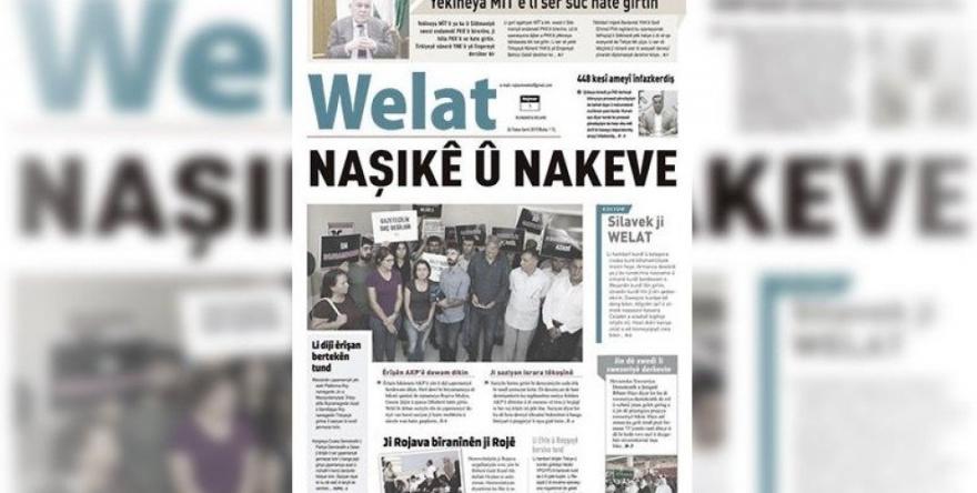 Rojnameya Welat dest bi weşanê kir