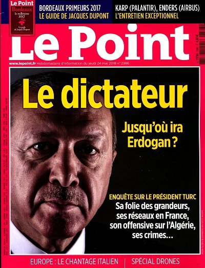 Le Point: Erdogan dîktator e