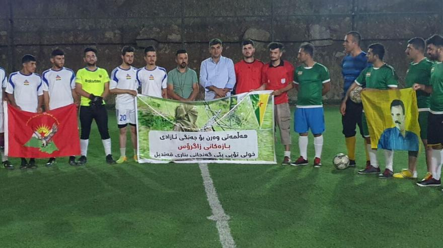 Li Qendîlê turnovaya futbolê ya 'Bazên Zagrosê'
