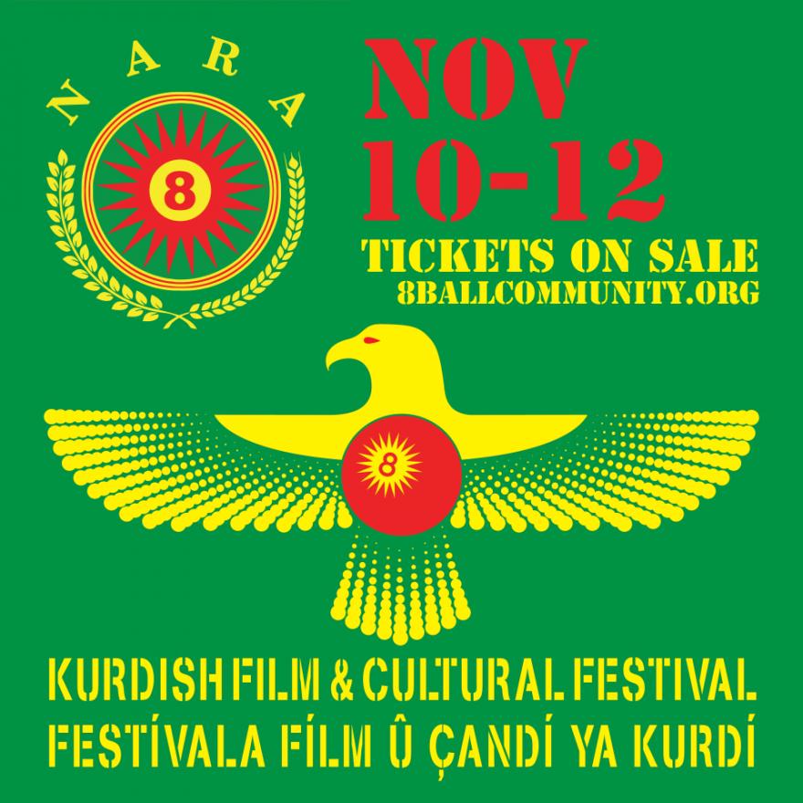 Li New York´ê 8-Ball Community dê malovaniya Festîvala Fîlm û Çandî ya Kurdî bike