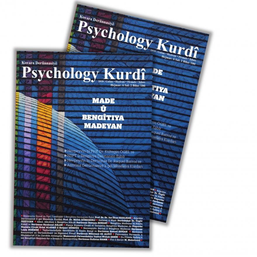 Hejmara nû ya Psychology Kurdî derket