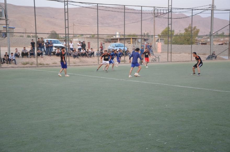 Li Mexmûrê ji bo şehîdên YPS'ê turnuva werzîşê hat destpêkirin