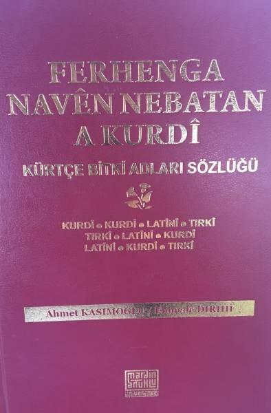Ferhenga Navên Nebatan a Kurdî derket