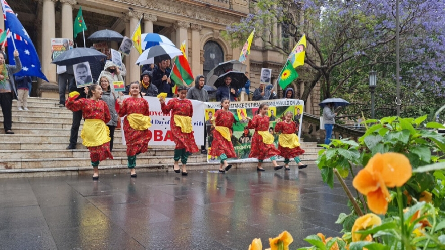 Li Sydneyê çalakiya 1'ê Mijdarê Roja Kobanê ya Cîhanê
