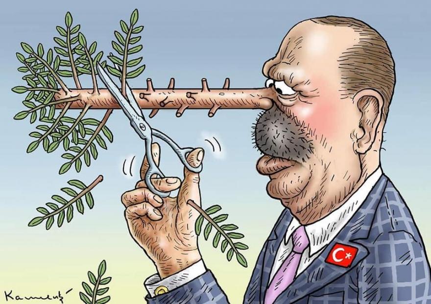 Erdogan, Mihemed Eliyê Qelşo û gotûbêjek,erdogan,mihemed,eliyê,qelşo,û,gotûbêjek