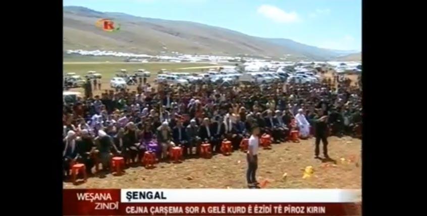 Cejna Çarşema Sor Li Gelê Kurd Pîroz be!
