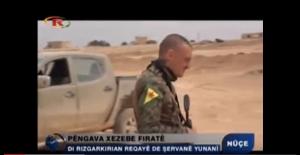 Şervanê Yewnanî yê YPG'yî